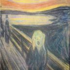 Edvard Munch, The Scream  Oslo National Gallery, Oslo. Reproduced with permission