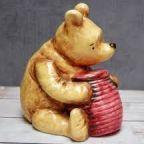 Pooh Bear Piggy Bank image on EBay