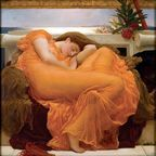 "Wikimedia Commons/Artrenewal.org/""Flaming June"" by Frederic Lord Leighton"