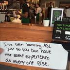 Starbucks Barista Note, Used With Permission of Frank Warren (www.postsecret.com)