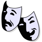 """""""Theatre icon"""" by M0tty, Extracted by Rlevente / Wikimedia Commons / CC BY-SA 4.0"""