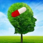 © Kiosea39 | Dreamstime.com. Tree In A Shape Of Side Profile Human Head With Pill Photo.   Used with permission.