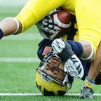 Permission granted by University of Michigan M Club (football stock images)