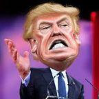 Trump Caricature/Flickr