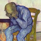 Vincent van Gogh: Sorrowing old man. Source: Wikimedia (public domain)