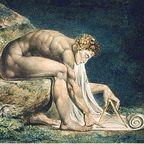 "WikimediaCommons.org/Public Domain (William Blake's ""Newton"")"