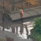 #DrummondPuddleWatch livestream screen capture /Periscope