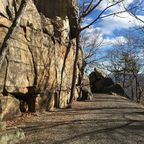 Photo by Glenn Geher; of Shawangunk Ridge