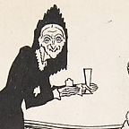 Illustration from Candide: public domain