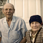 """An old married couple in Kyrgyzstan, 2010,"" Jennifer Buzanowski, U.S. Air Force, Wikimedia Commons"