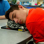 """Sleeping in school,"" MC Quinn, Flickr, CC BY 20"