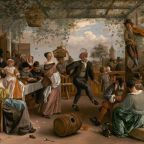 Jan Steen, The Dancing Couple, 1663, Widener Collection1942.9.81, National Gallery of Art, Washington, D.C.