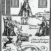 Matthew Hopkins, Witch Finder General. From a broadside published by Hopkins before 1650.