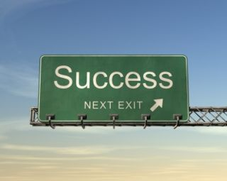 Freeway Exit for Success