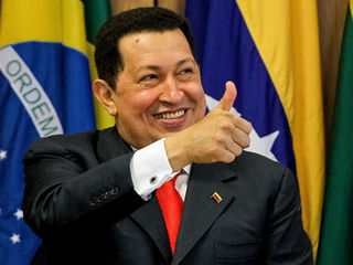 Wikimedia. Former Venezuelan strongman Hugo Chavez, who led his country into chaos