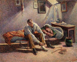 """""""Morning, Interior - Luce"""" by Maximilien Luce - Metropolitan Museum of Art. Licensed under Public Domain via Wikimedia Commons"""