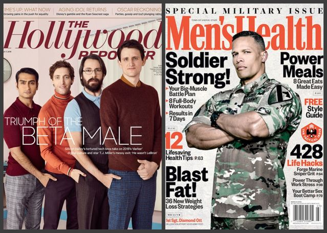 The Hollywood Reporter; Men's Health